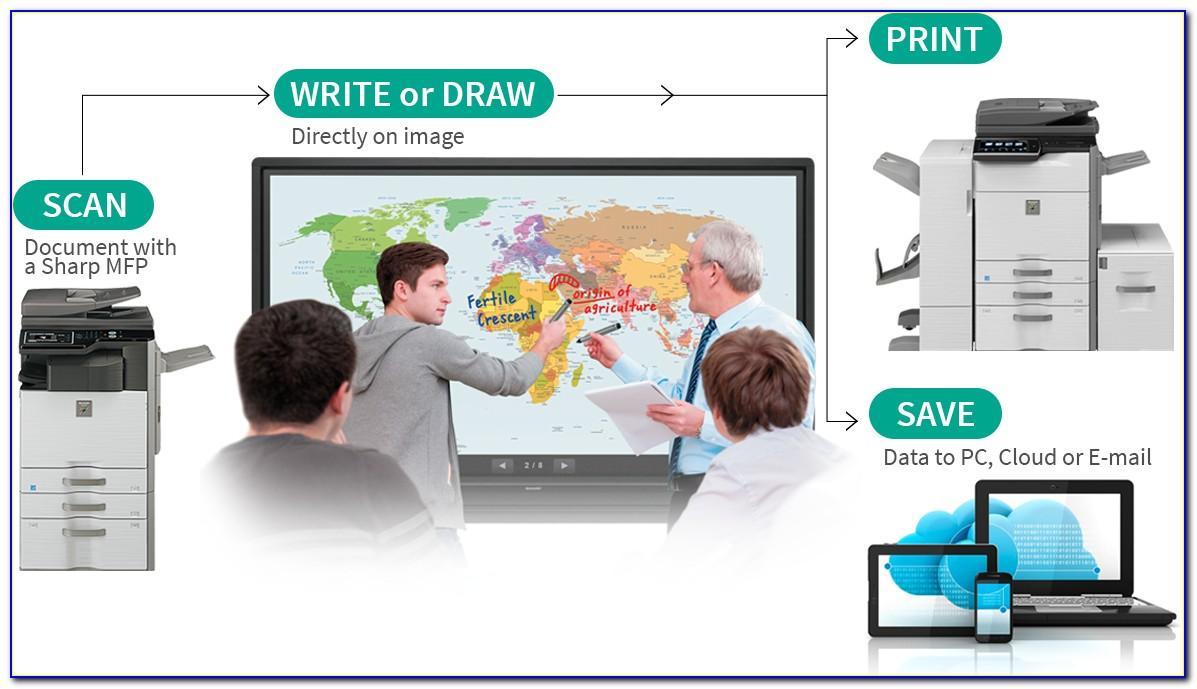 Aquos Board Pn L803c Brochure