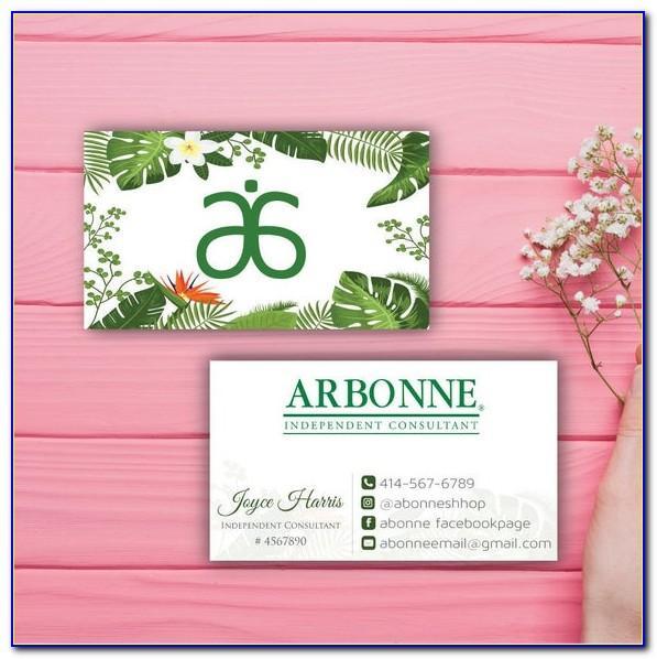 Arbonne Business Cards Us