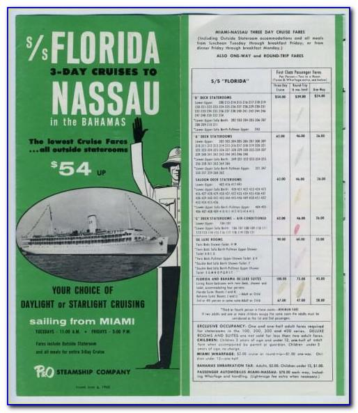 Atlantis Bahamas Mail Brochure