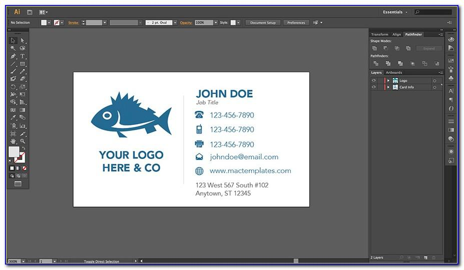 Avery 5371 Business Card Template For Publisher
