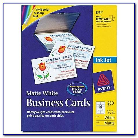 Avery 8371 Business Card Designs