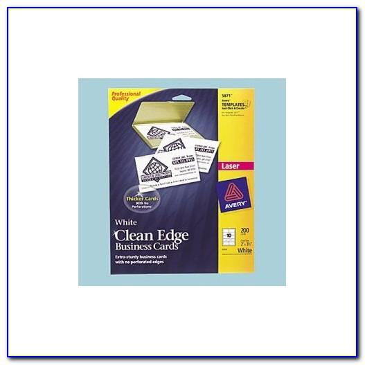Avery Clean Edge Business Cards Laser