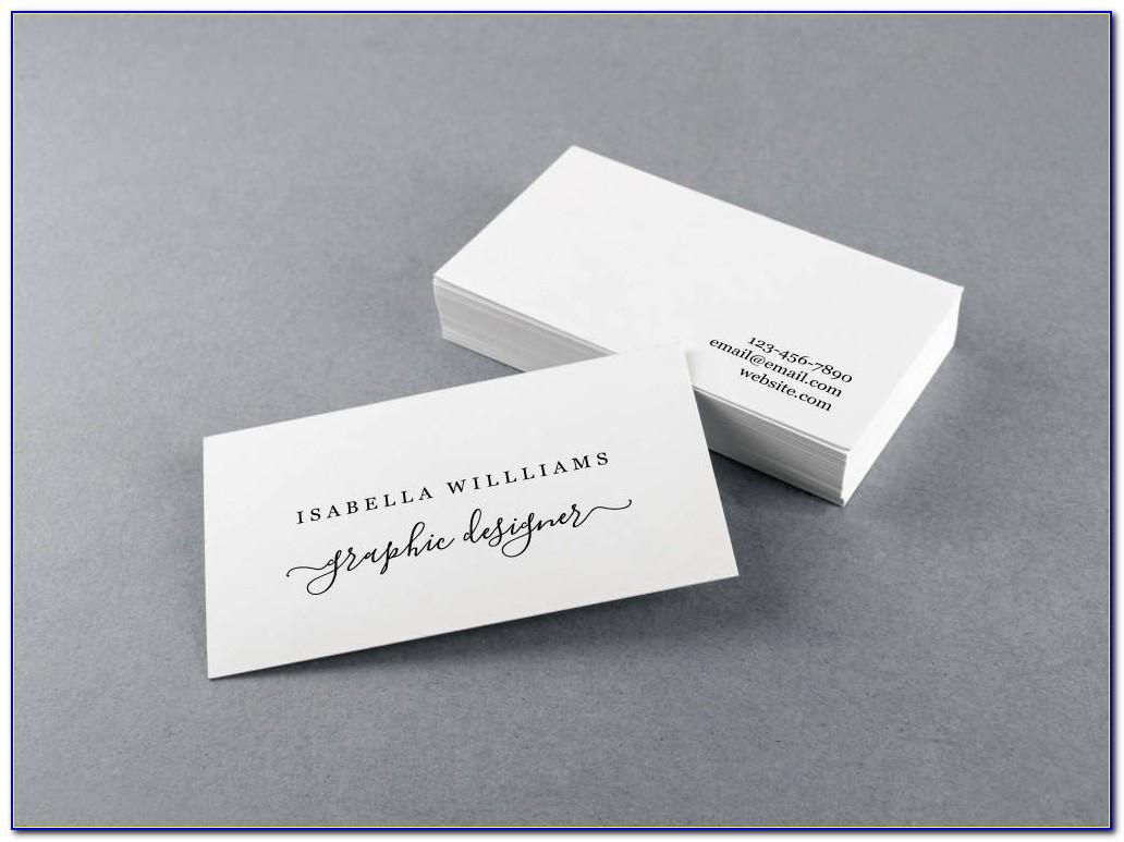 Avery Square Business Cards