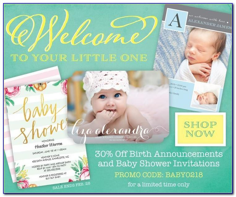 Baby Announcement Cards Cheap