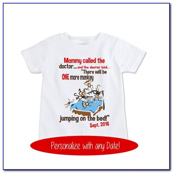 Baby Announcement Shirts For Mom And Dad