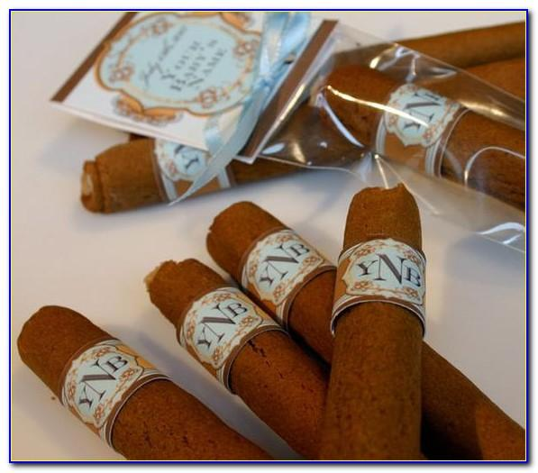 Baby Boy Announcement Cigars
