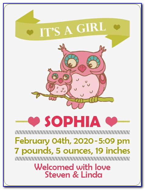 Baby Expecting Announcement Wording