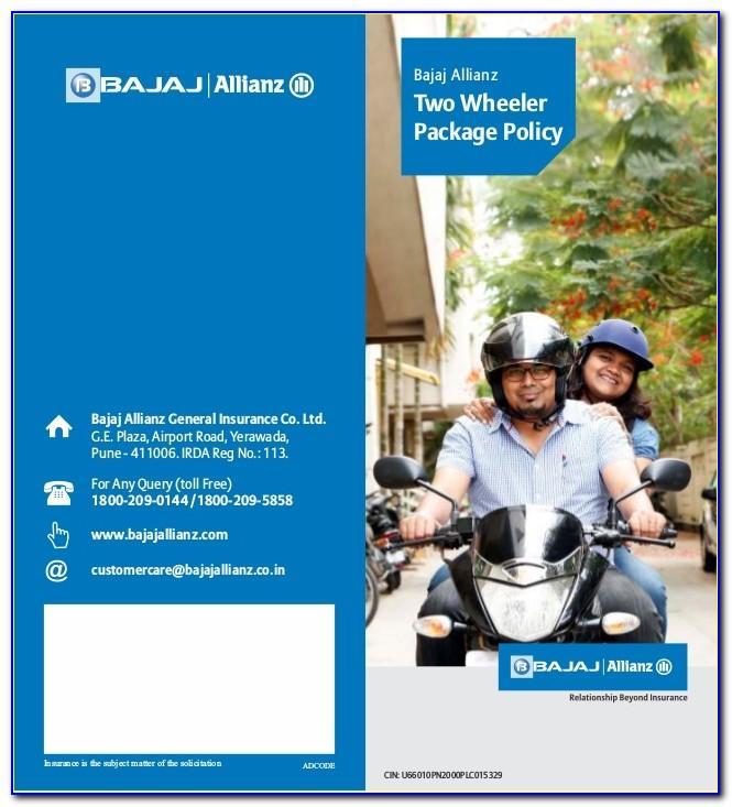 Bajaj Allianz Domestic Travel Insurance Brochure