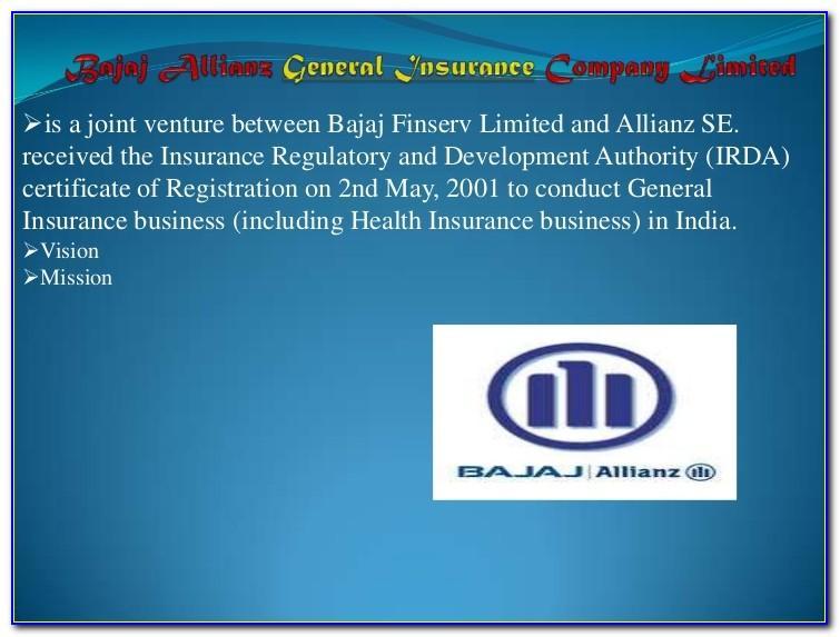 Bajaj Allianz Student Travel Insurance Brochure