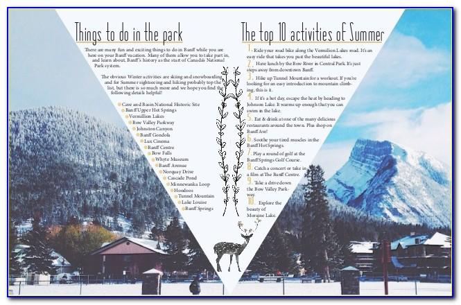 Banff Tourism Brochures