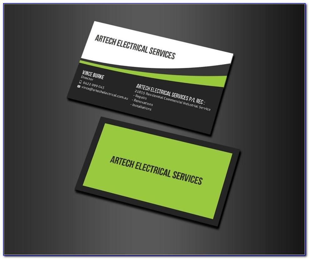 Bartender Business Cards Samples