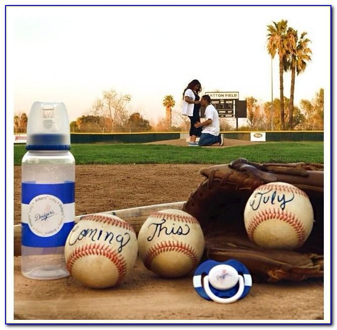 Baseball Pregnancy Announcement To Husband