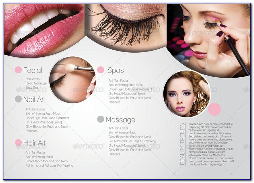 Beauty Salon Brochure Template Free