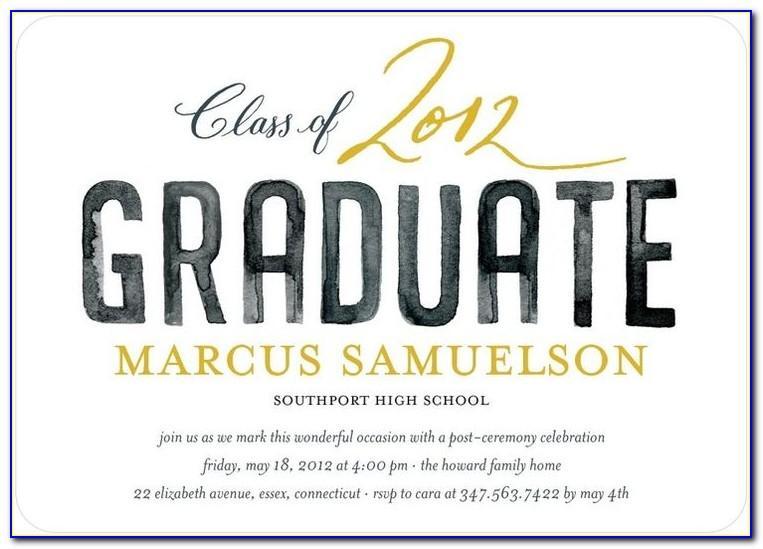 Best Font For Graduation Invitation Envelopes