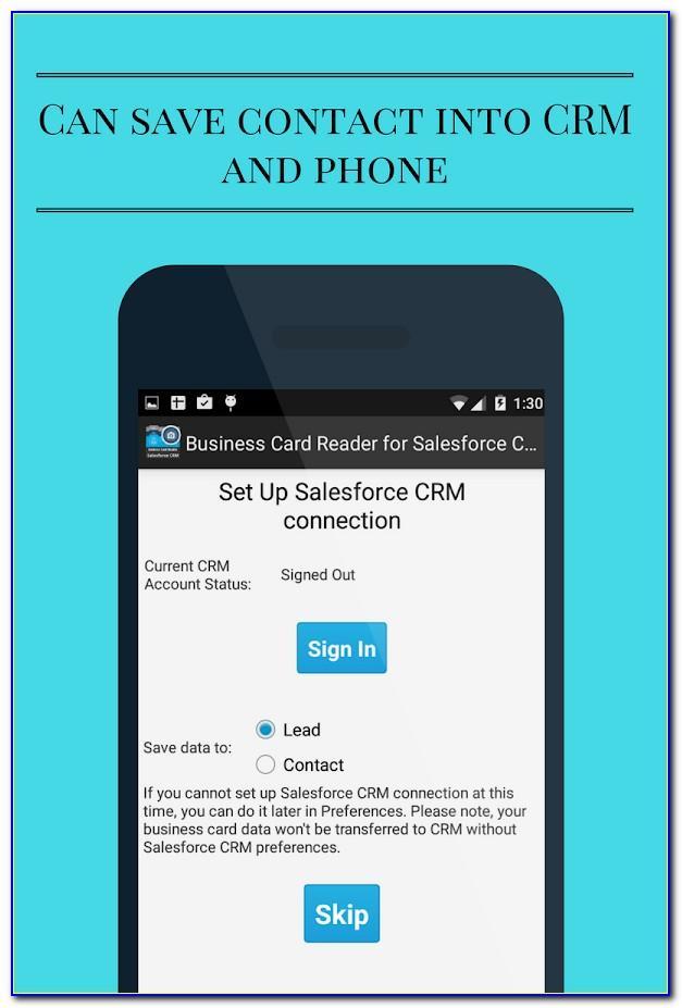 Best Salesforce Business Card Scanner