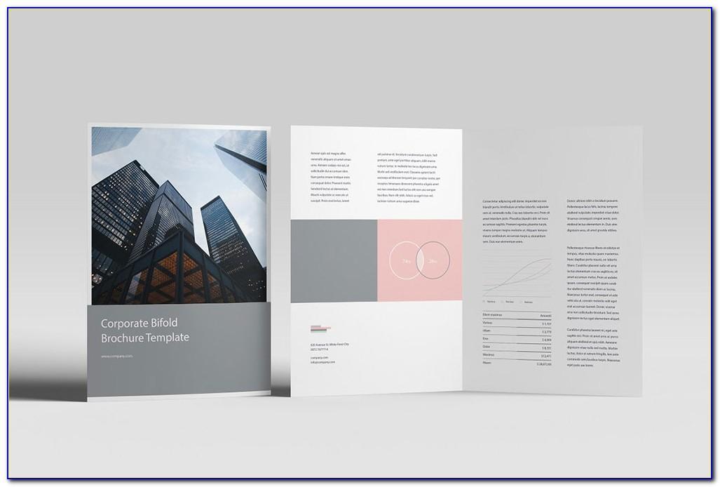 Bifold Brochure Mockup Free Download