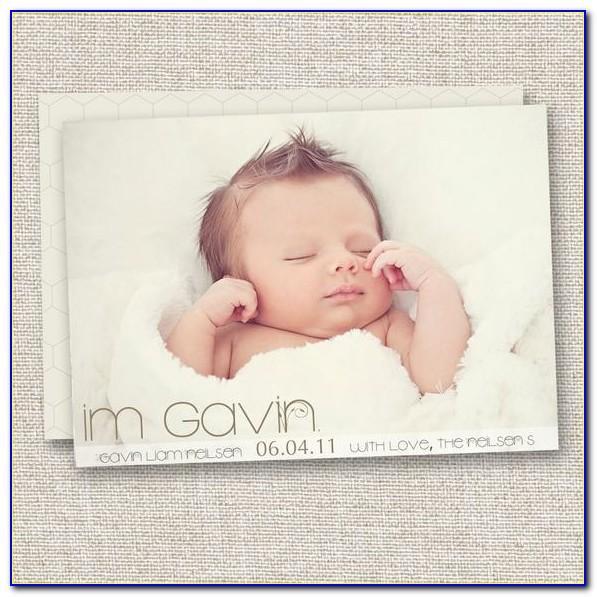 Birth Announcement Stickers