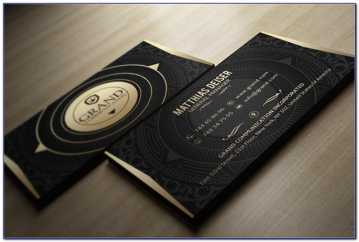 Blank Business Card Template Staples