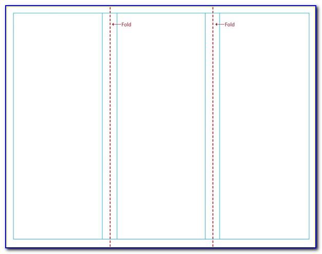Blank Tri Fold Brochure Template Publisher