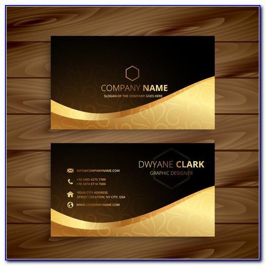 Blind Embossed Business Card Mockup