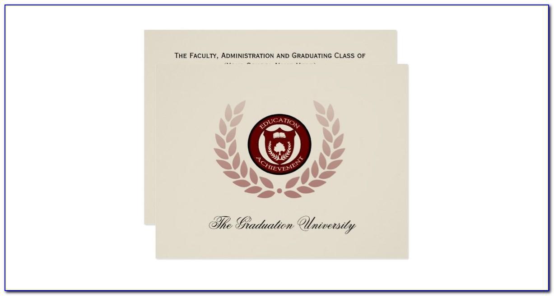 Boston College Graduation Announcements