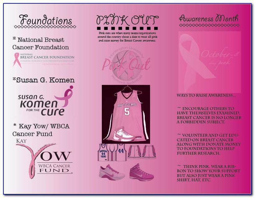 Breast Cancer Awareness Month Brochures