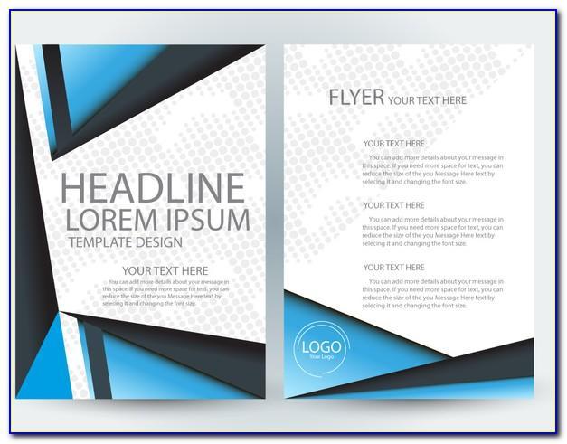 Brochure Design Template Ai