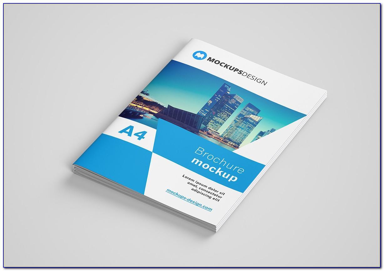 Brochure Mockup A5