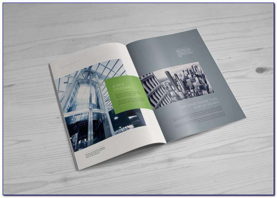 Brochure Mockup Free Download
