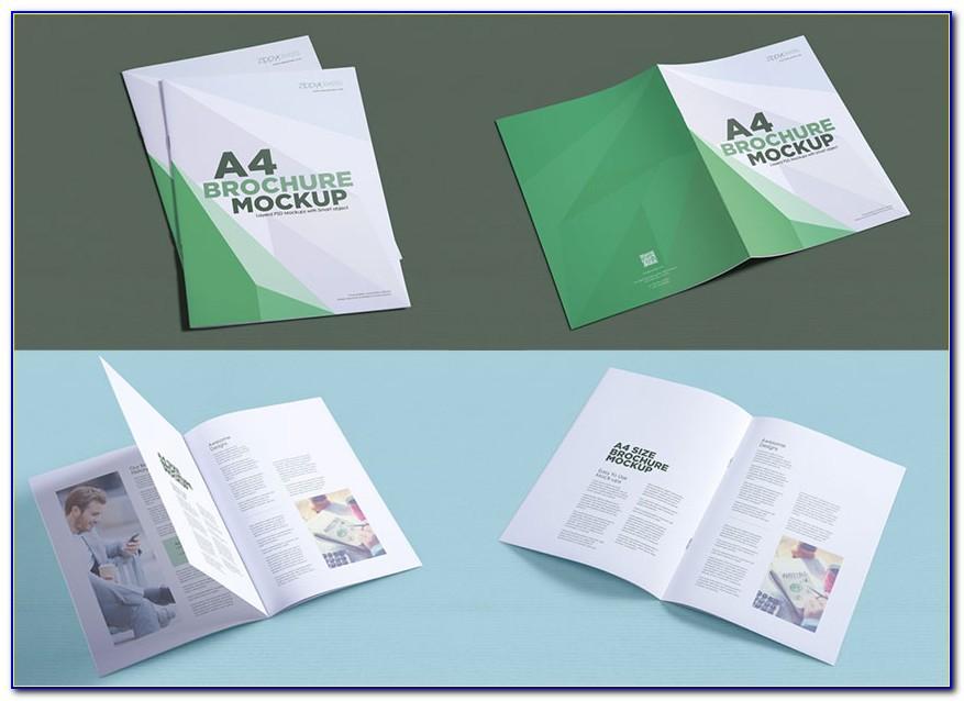 Brochure Mockup Template