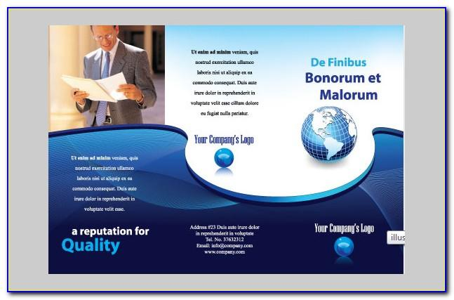 Brochure Template Ai Free Download