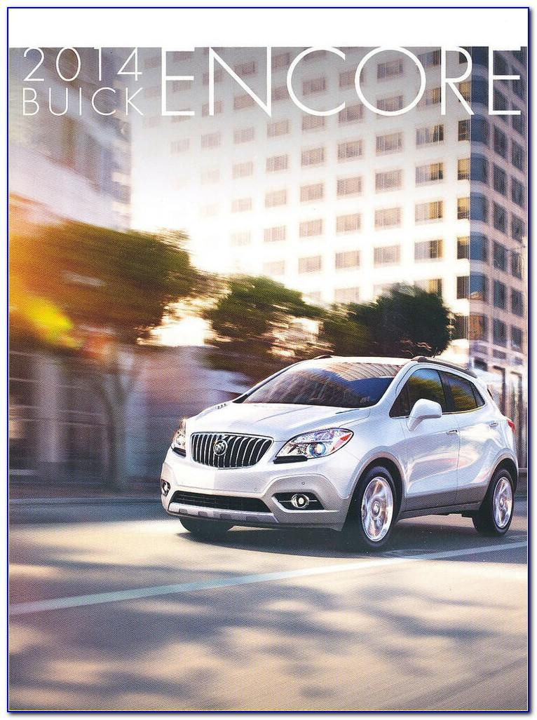 Buick Encore Gx Brochure