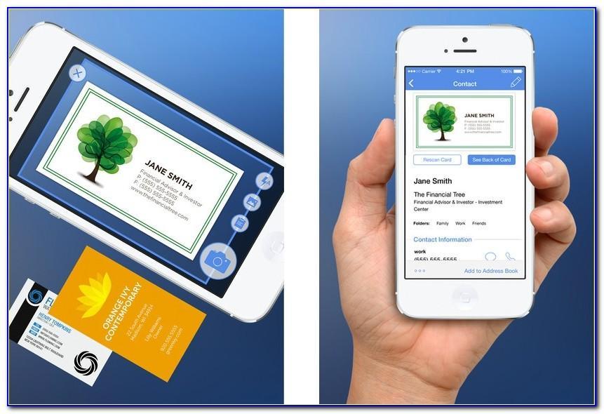 Business Card Scanner Salesforce Integration