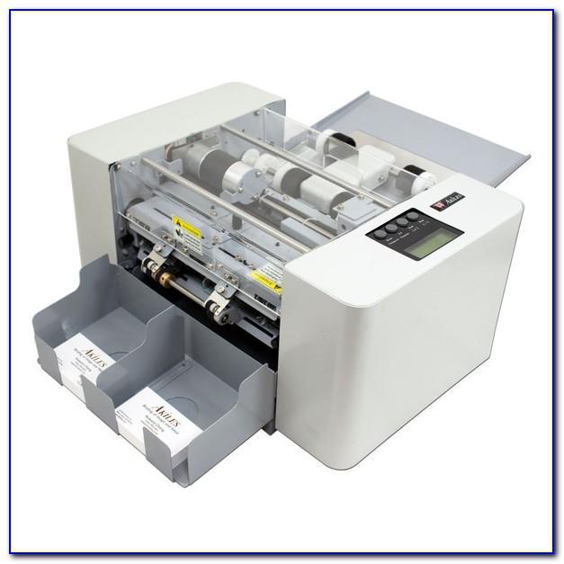 Business Card Slitter Machine