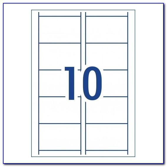 Business Card Template Word 10 Per Sheet Vertical