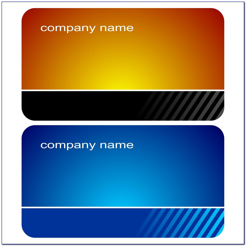 Business Card Vector Ai