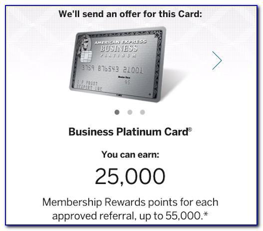Business Platinum Card Limit