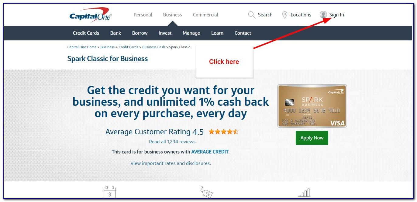 Capital One Business Card Offer