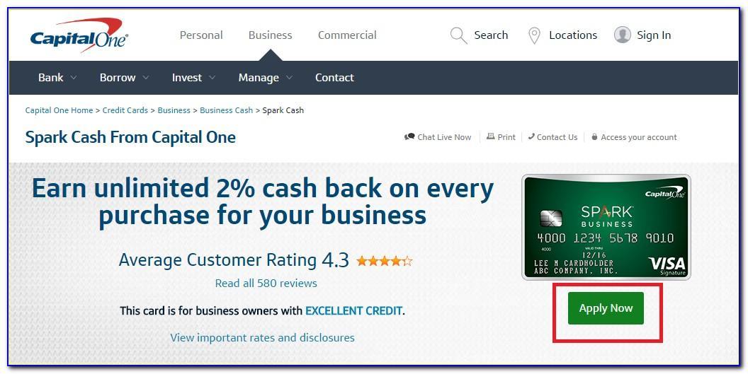 Capital One Spark Business Card Rewards