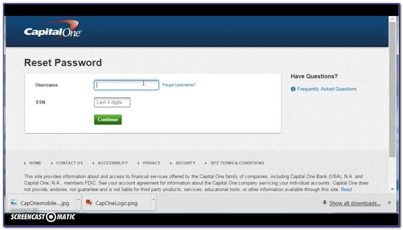 Capital One Visa Signature Business Card