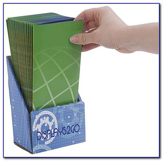 Cardboard Brochure Holders Staples