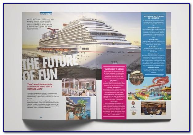 Carnival Cruise Printable Brochure