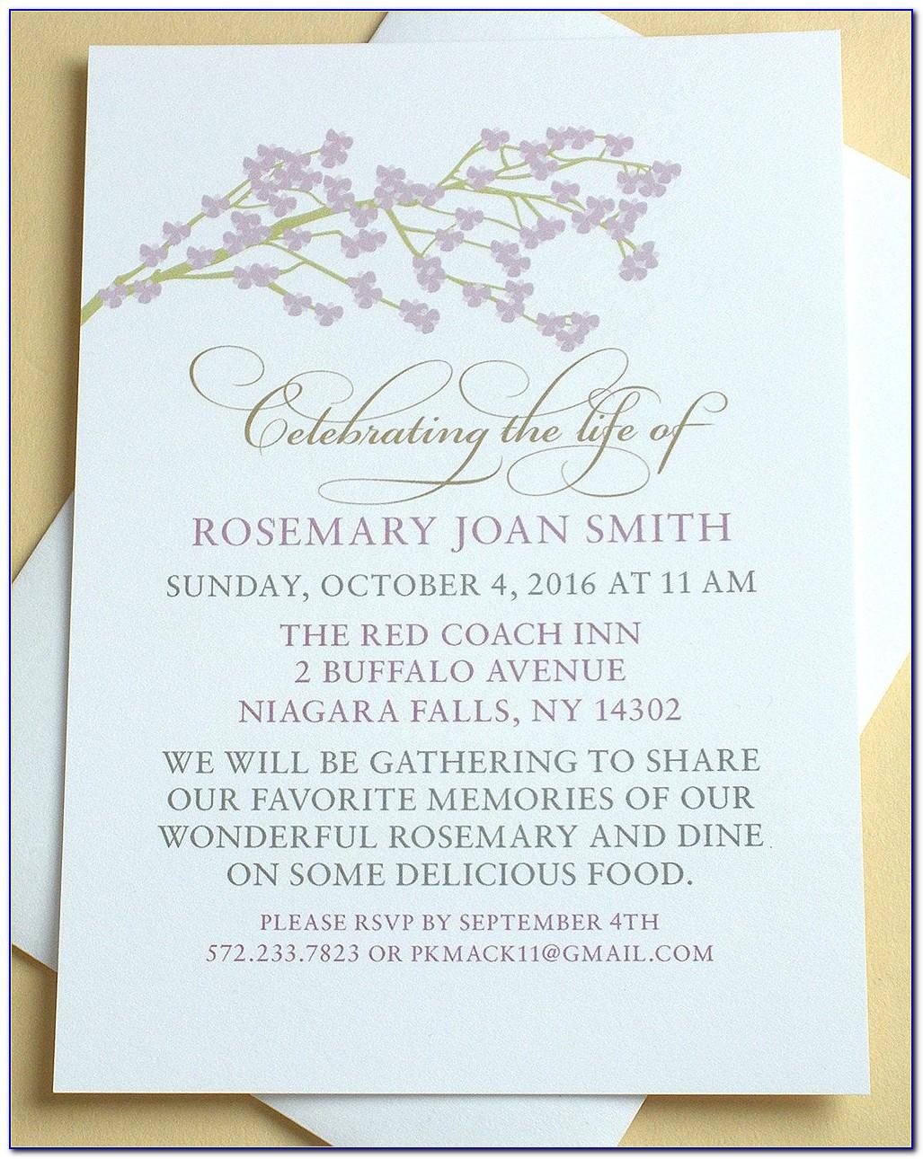 Celebration Invitations Templates Free
