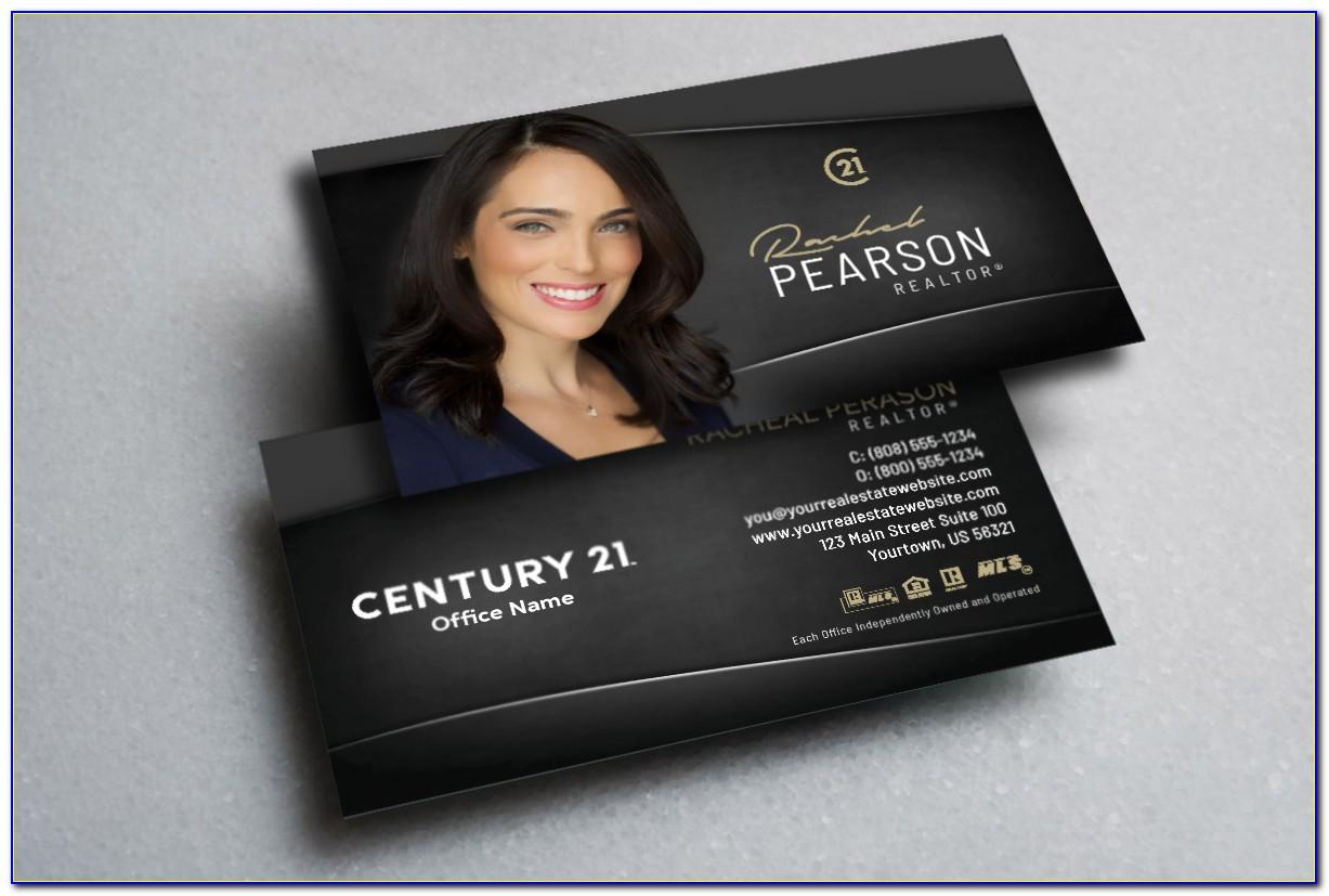 Century 21 Approved Business Cards
