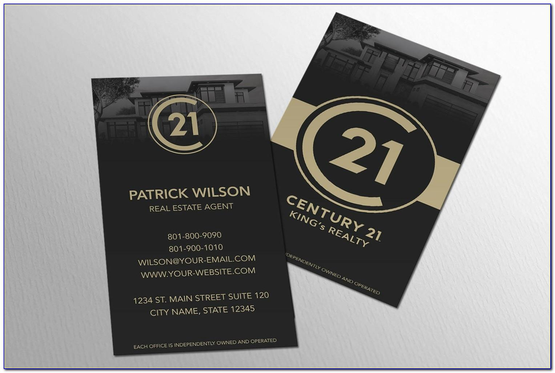 Century 21 Business Cards Canada