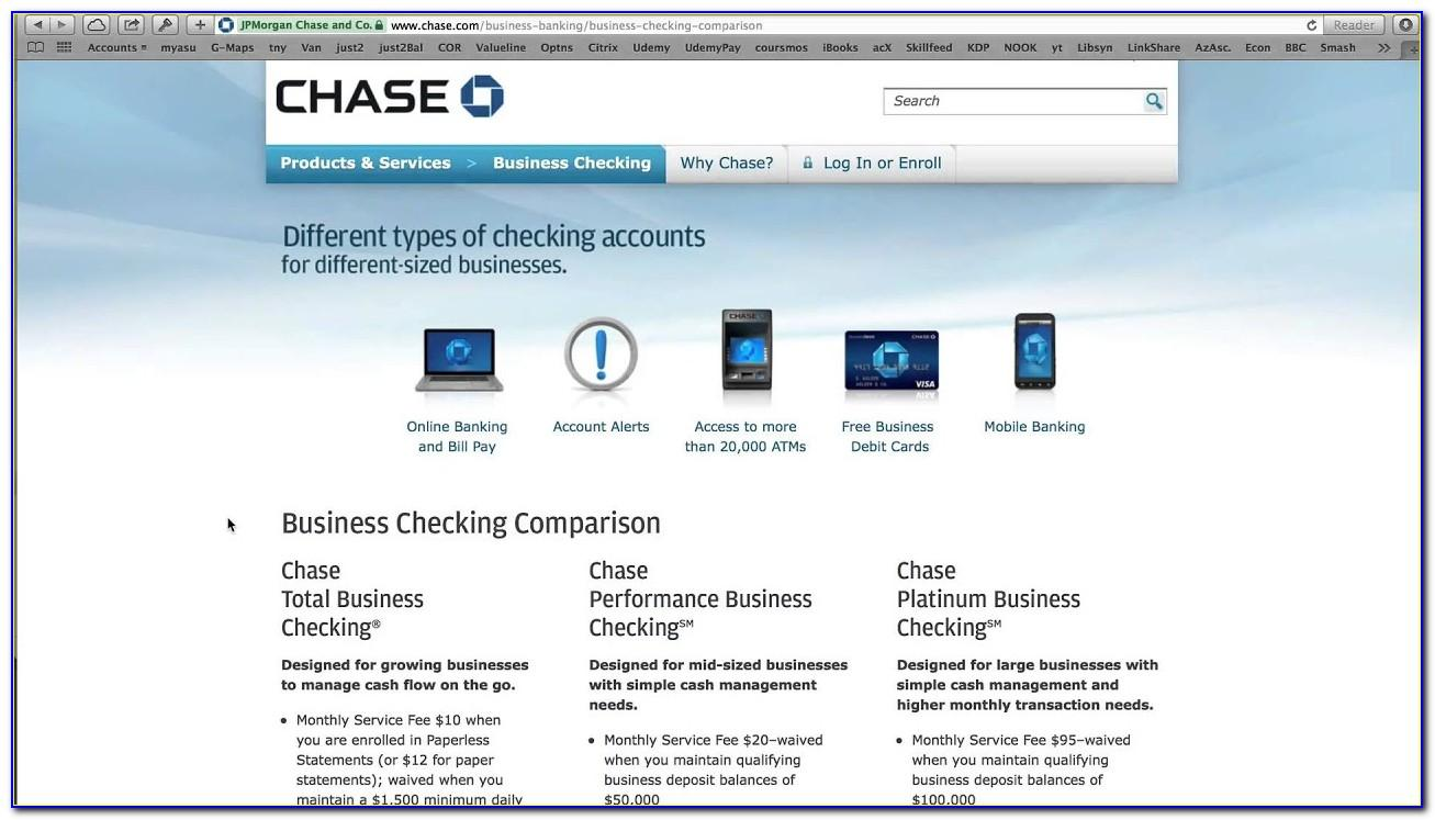 Chase Business Account Card Reader