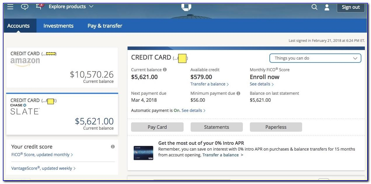 Chase Business Card Account Login