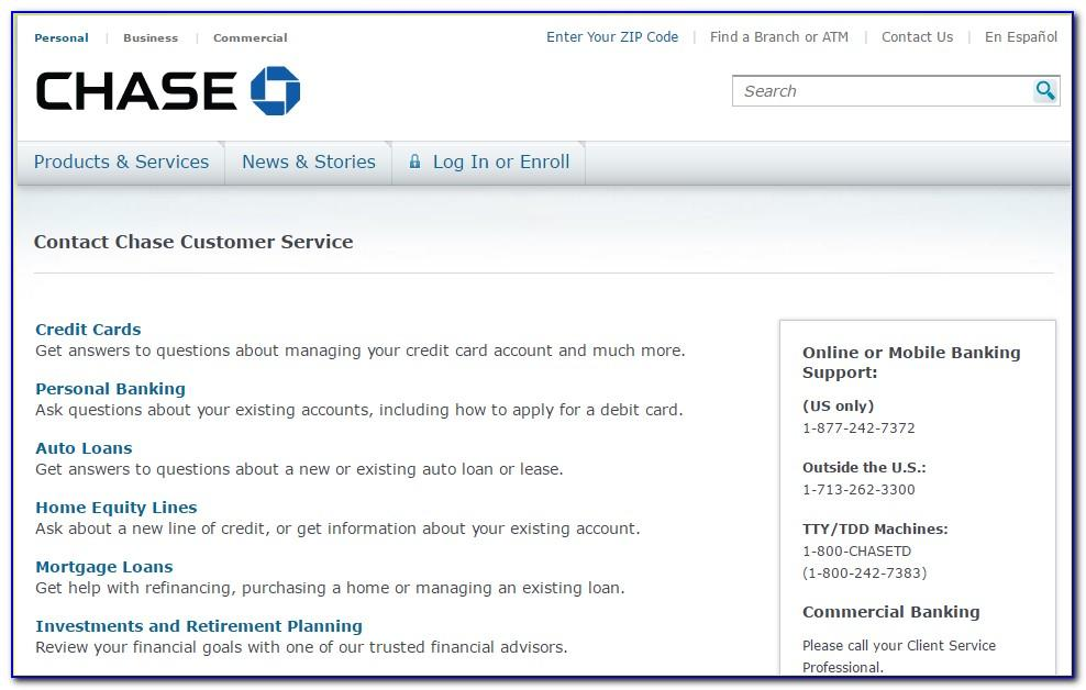 Chase Business Card Customer Service Number