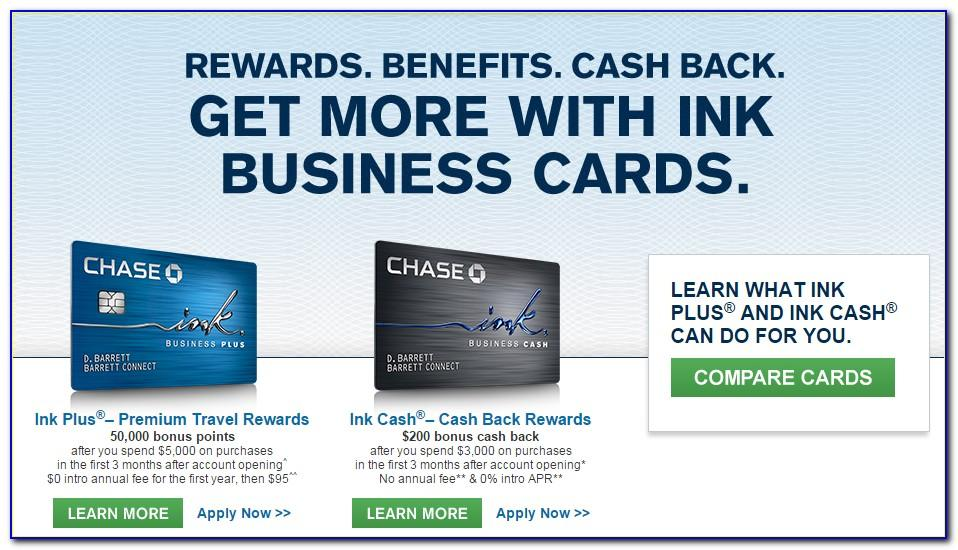 Chase Business Card On Personal Account