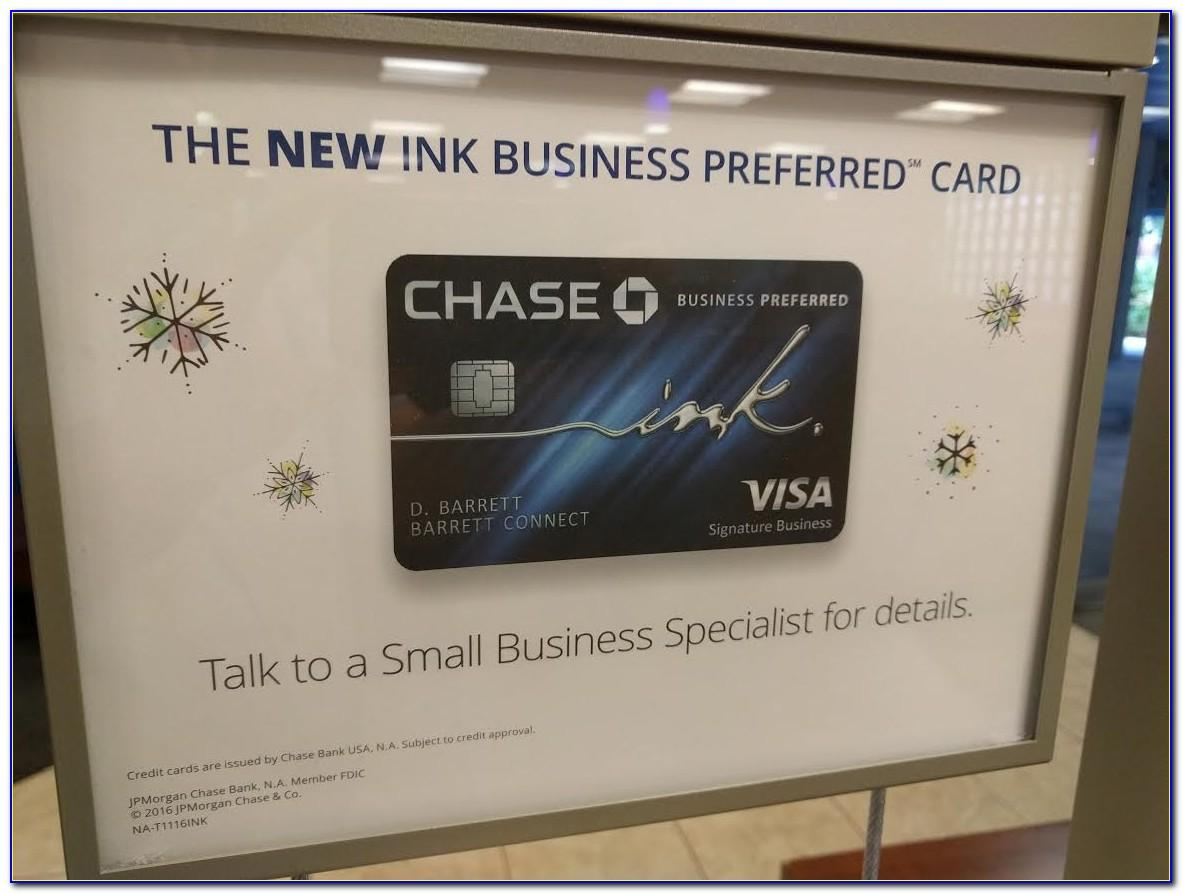 Chase Business Card Referral